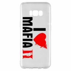 Чехол для Samsung S8+ I love Mafia 2