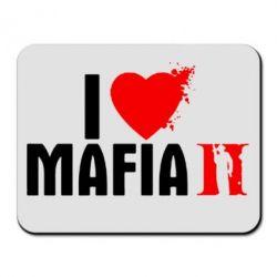 Коврик для мыши I love Mafia 2 - FatLine