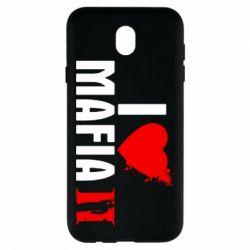 Чохол для Samsung J7 2017 I love Mafia 2