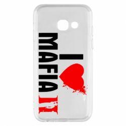 Чехол для Samsung A3 2017 I love Mafia 2