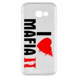 Чехол для Samsung A5 2017 I love Mafia 2