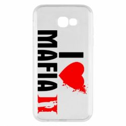 Чехол для Samsung A7 2017 I love Mafia 2