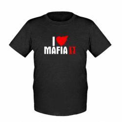Детская футболка I love Mafia 2