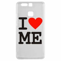 Чехол для Huawei P9 I love ME - FatLine