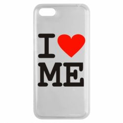 Чехол для Huawei Y5 2018 I love ME - FatLine