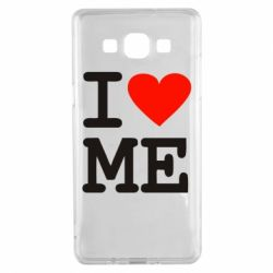 Чехол для Samsung A5 2015 I love ME - FatLine