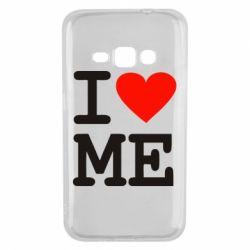 Чохол для Samsung J1 2016 I love ME