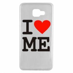 Чохол для Samsung A7 2016 I love ME