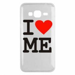 Чехол для Samsung J3 2016 I love ME - FatLine