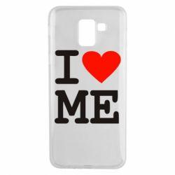 Чехол для Samsung J6 I love ME - FatLine
