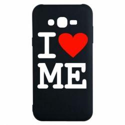 Чохол для Samsung J7 2015 I love ME