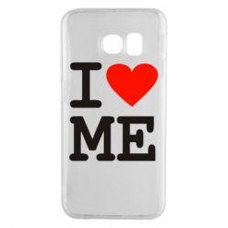 Чехол для Samsung S6 EDGE I love ME - FatLine
