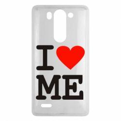 Чехол для LG G3 mini/G3s I love ME - FatLine