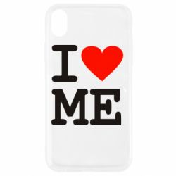 Чехол для iPhone XR I love ME