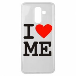 Чохол для Samsung J8 2018 I love ME