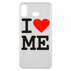 Чехол для Samsung A6s I love ME - FatLine