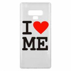 Чохол для Samsung Note 9 I love ME