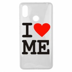 Чехол для Xiaomi Mi Max 3 I love ME - FatLine