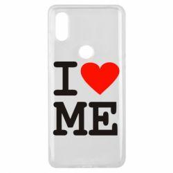 Чехол для Xiaomi Mi Mix 3 I love ME - FatLine