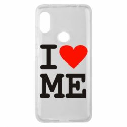 Чехол для Xiaomi Redmi Note 6 Pro I love ME - FatLine