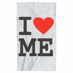 Полотенце I love ME - FatLine