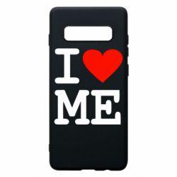 Чохол для Samsung S10+ I love ME