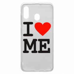 Чехол для Samsung A20 I love ME