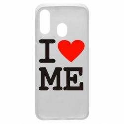 Чехол для Samsung A40 I love ME