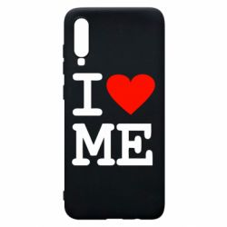Чехол для Samsung A70 I love ME