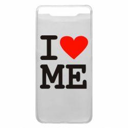 Чехол для Samsung A80 I love ME