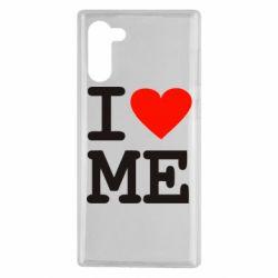 Чохол для Samsung Note 10 I love ME