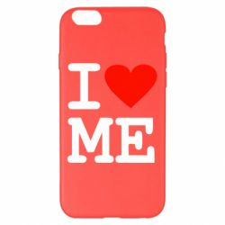Чехол для iPhone 6 Plus/6S Plus I love ME