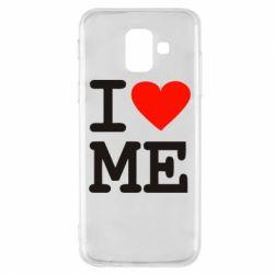 Чехол для Samsung A6 2018 I love ME - FatLine