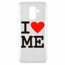 Чехол для Samsung A6+ 2018 I love ME - FatLine