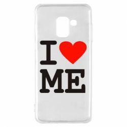 Чехол для Samsung A8 2018 I love ME - FatLine