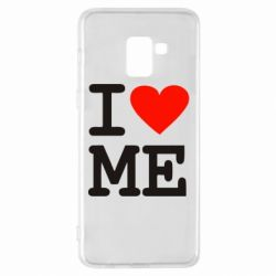 Чехол для Samsung A8+ 2018 I love ME - FatLine