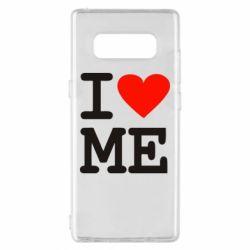 Чехол для Samsung Note 8 I love ME - FatLine