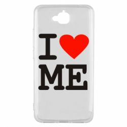 Чехол для Huawei Y6 Pro I love ME - FatLine