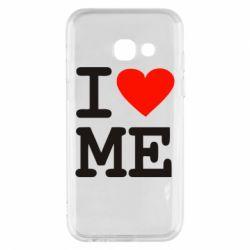Чехол для Samsung A3 2017 I love ME - FatLine