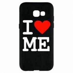 Чохол для Samsung A5 2017 I love ME