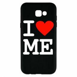 Чохол для Samsung A7 2017 I love ME