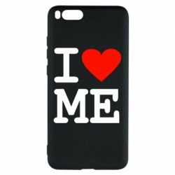 Чехол для Xiaomi Mi Note 3 I love ME - FatLine