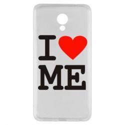 Чехол для Meizu M5 Note I love ME - FatLine