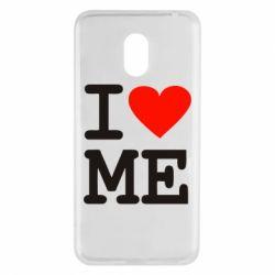 Чехол для Meizu M6 I love ME - FatLine