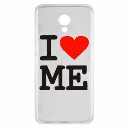Чехол для Meizu M6s I love ME - FatLine