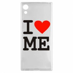 Чехол для Sony Xperia XA1 I love ME - FatLine