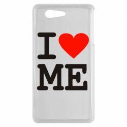 Чехол для Sony Xperia Z3 mini I love ME - FatLine