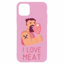 Чехол для iPhone 11 I Love meat