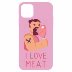 Чехол для iPhone 11 Pro Max I Love meat