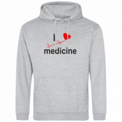 Толстовка I love medicine - FatLine